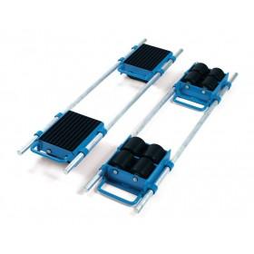 Rouleur 6 T avec barres de réglage