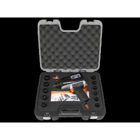 Coffret 11 douilles 10-24 mm et clé à chocs 1/2'' BAHCO 1098 Nm