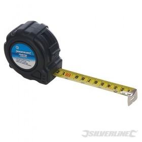 Mètre ruban Auto Lock 3-7.5 m SILVERLINE
