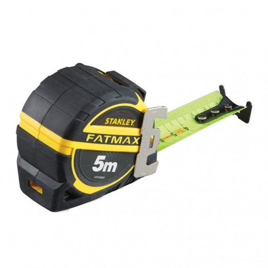 33ae5fdb07d356 Mètre professionnel Stanley Fatmax avec ruban fluorescent 5 ou 8 m