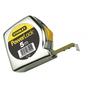 Mètre STANLEY POWERLOCK CLASSIC ABS 3/5/8/10 m