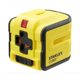 Niveau laser rouge automatique croix STANLEY CUBIX
