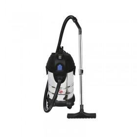 Aspirateur inox eau/poussière décolmatage LEMAN 30L