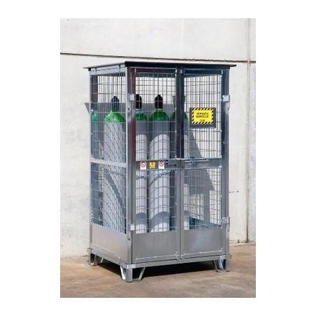 Box extérieur pour 9/12 bouteilles de gaz