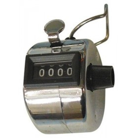 Compteur manuel métal 4 chiffres