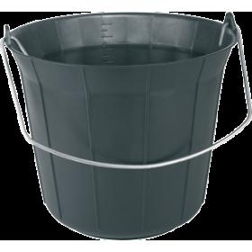 Seau de maçon 11L eco - Noir