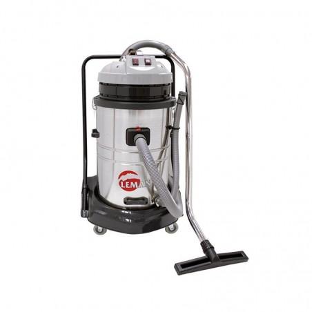 Aspirateur inox eau/poussière LEMAN 70L
