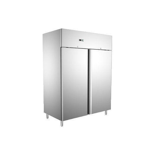 armoire de stockage inox n gative et ventil e 1400 l avec 2 portes. Black Bedroom Furniture Sets. Home Design Ideas