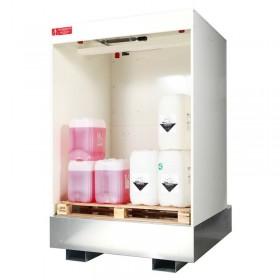 Armoire ouverte pour le stockage de produits inflammables