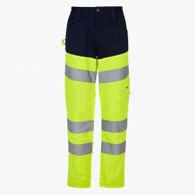 Pantalon de travail jambes amovibles et haute visibilité Diadora Utility