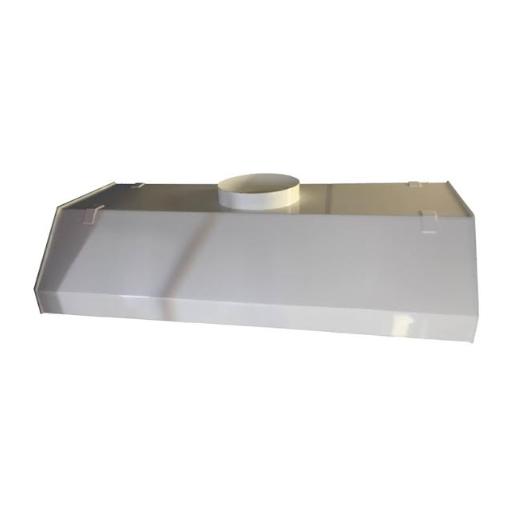 Hotte d'extraction suspendu en PVC, Acier époxy ou Inox