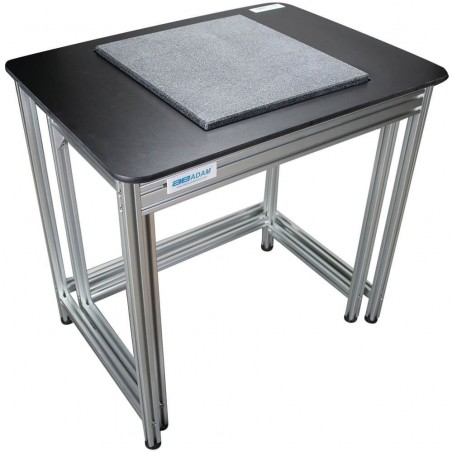 table de pesée  Anti-vibration avec deux poste dissociés