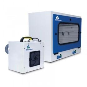 Chambre de fumigation pour révélation d'empreintes | Air Science