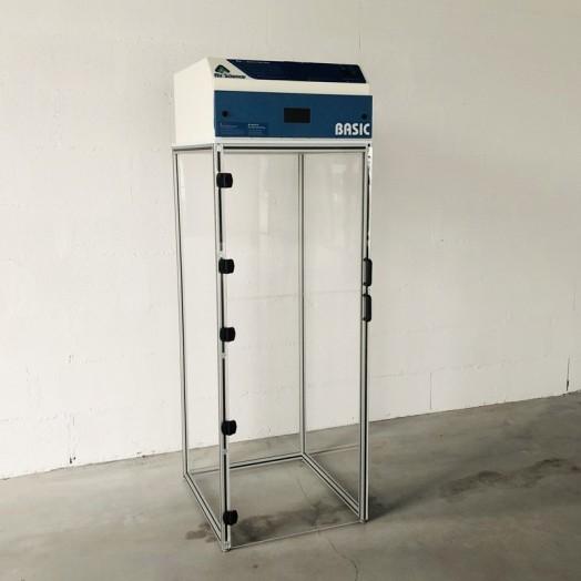 Enceinte à filtration sur mesure