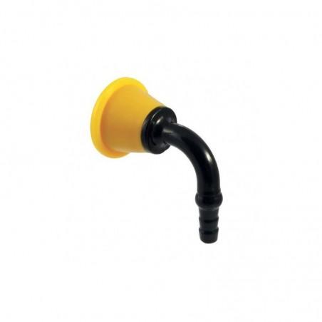 Tétine sur table ou dosseret pour gaz combustibles - Sanifirst