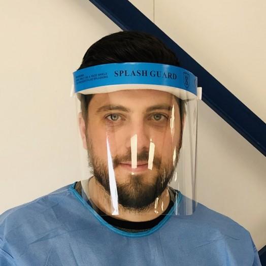 Écran facial de sécurité et protection individuelle contre les virus