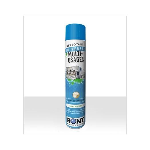 Aérosol nettoyant professionnel multi-surfaces 750 ml - RONT