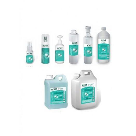 Flacon ou bidon alcool isopropylique 70% - de 50 ml à 5L - RONT