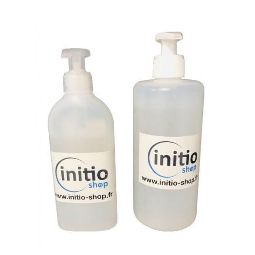Gel hydroalcoolique 200 ou 500 ml avec bouteille à pompe - Initio Shop
