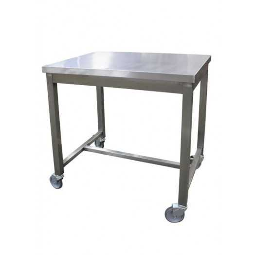 Table inox AISI 304 compact et mobile