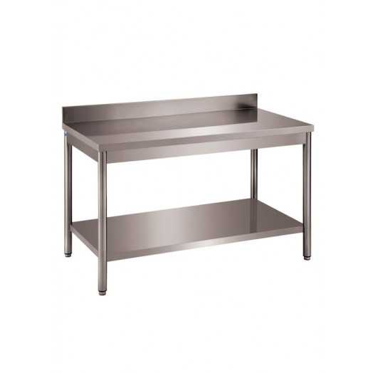 Table inox ferritique personnalisable