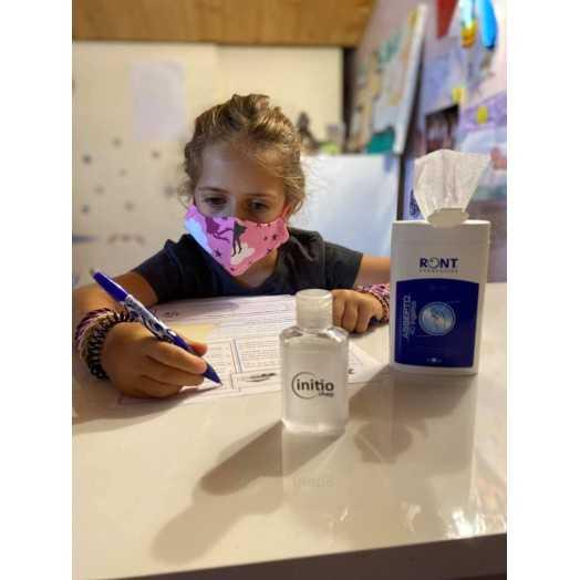 Masque enfant avec 3 couches pour une haute protection - réutilisable