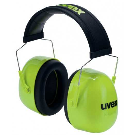 casque anti-bruit pliable uvex Xsnr 36dB avec serre-tête matelassé