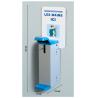 Distributeur par actionnement au coude pour gel hydroalcoolique
