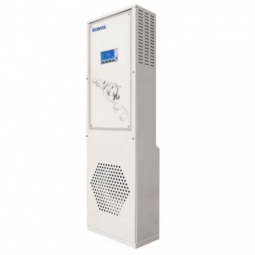 Purification et stérilisation d'air grand volume par lampe UV