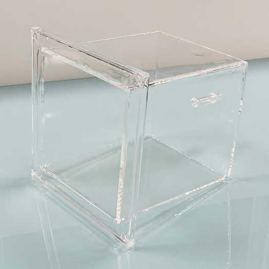 Bac quartz standard pour wafer silicium