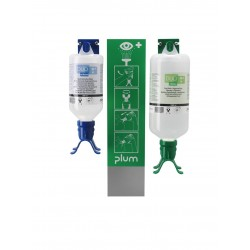 Station murale Duo mixte pH Neutral et solution saline PLUM