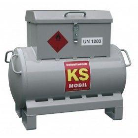 Station essence KS MOBIL de...