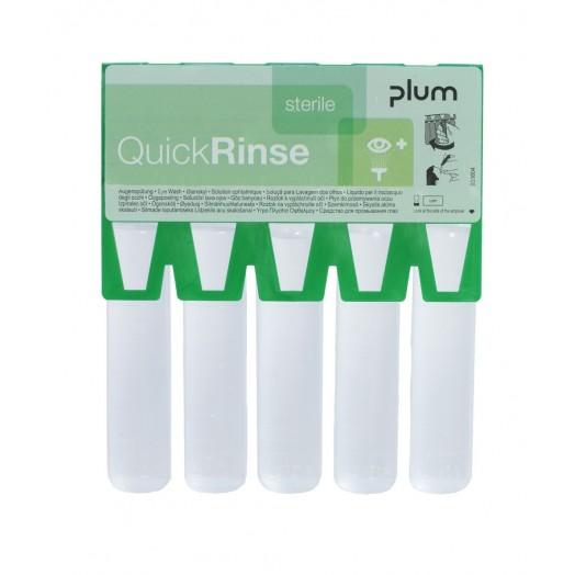 Recharge ampoules de lavage oculaire PLUM QuickRinse