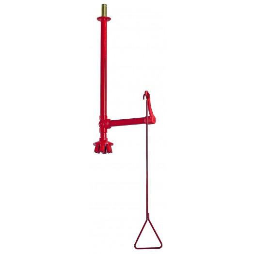 Douche de sécurité montage plafond avec vanne